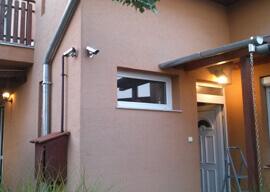 Magán ház Kültéri világítás és kamera telepítés